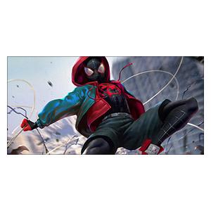 Spider-man. Размер: 60 х 30 см